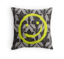 Sherlock Smile Throw Pillow