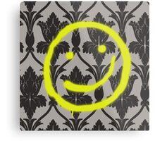 Sherlock Smile Metal Print