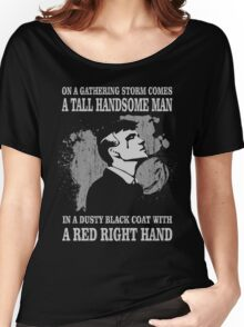 Peaky Blinders Song. Tommy Shelby. Women's Relaxed Fit T-Shirt