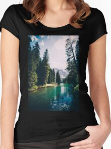 Northern Forest Women's Fitted Scoop T-Shirt