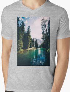 Northern Forest Mens V-Neck T-Shirt