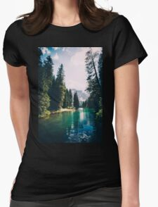 Northern Forest Womens Fitted T-Shirt