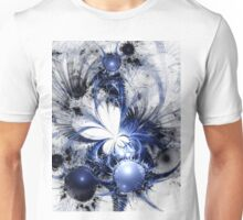 Blizzard - Abstract Fractal Artwork Unisex T-Shirt