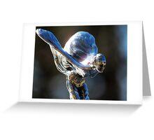 Rolls-Royce Lady Greeting Card