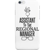 Dwight Schrute - Assistant to the Regional Manager iPhone Case/Skin