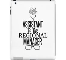 Dwight Schrute - Assistant to the Regional Manager iPad Case/Skin