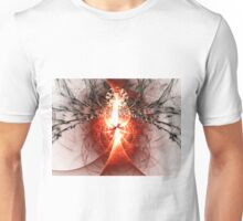Black Widow - Abstract Fractal Artwork Unisex T-Shirt