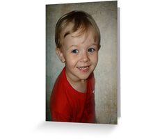 A big smile for grama Greeting Card