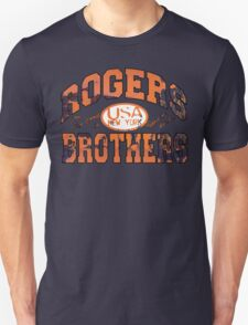 usa new york rust by rogers bros T-Shirt
