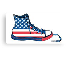 Basketball Shoe United States USA Canvas Print