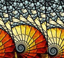 Billow - Abstract Fractal Artwork Sticker