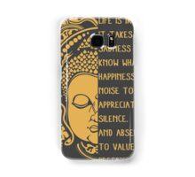 life is ironic buddha Samsung Galaxy Case/Skin