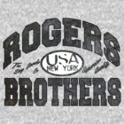 usa new york wood by rogers bros by usanewyork