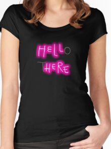 Hello There Women's Fitted Scoop T-Shirt