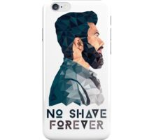 No Shave Forever iPhone Case/Skin