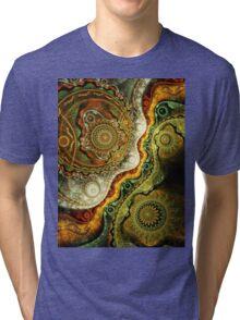 Autumn - Abstract Fractal Artwork Tri-blend T-Shirt