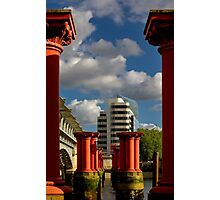 A view in London Photographic Print