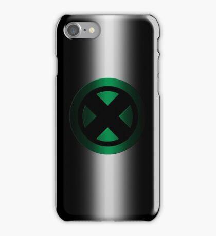 X-Men Logo: Green iPhone Case/Skin