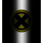 X-Men Logo: Yellow by LeeAnn Ellison
