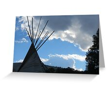 Teepee Remembrance Greeting Card