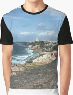Old San Juan, Puerto Rico Graphic T-Shirt