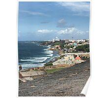 Old San Juan, Puerto Rico Poster