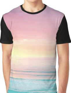 Pastel Ocean Graphic T-Shirt