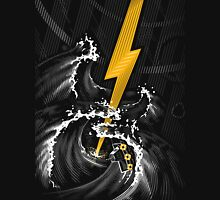 Electric Guitar Storm Unisex T-Shirt