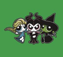 Powerpuff Witches Kids Clothes