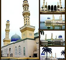 City Mosque by Tleighsworld