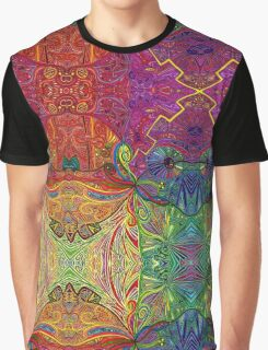 Psychedelic Abstract colourful work 74 Graphic T-Shirt