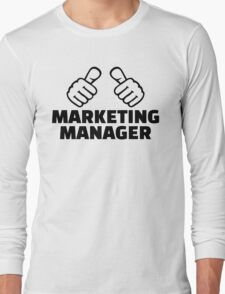 Marketing manager Long Sleeve T-Shirt