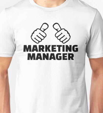 Marketing manager Unisex T-Shirt