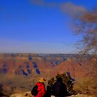 Watching the Grand Canyon by Charmiene Maxwell-batten