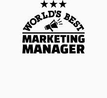 World's best marketing manager Unisex T-Shirt