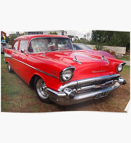 50s Chevrolet Poster