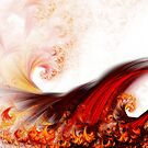 Flow - Abstract Fractal Artwork by EliVokounova