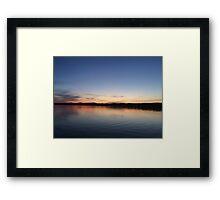 The Great Sacandaga Lake  Framed Print