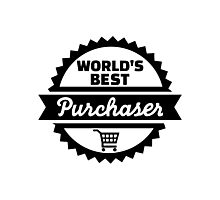 World's best purchaser Photographic Print