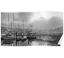Fishermans Wharf Poster