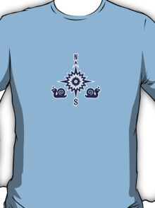 Wind Rose flanked by Snails T-Shirt