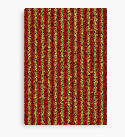 red yellow black Canvas Print