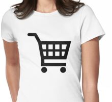 Shopping cart Womens Fitted T-Shirt