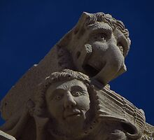 Cathedral Faces, Korcula by wiggyofipswich