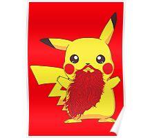 Beardemon - Pikachu Poster