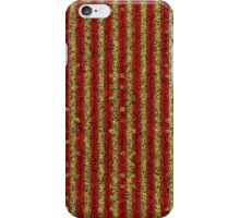 red yellow black iPhone Case/Skin