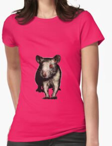 Alice the Friendly Rat Womens Fitted T-Shirt
