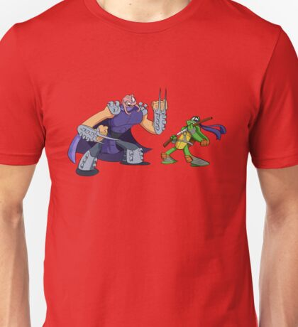 Shredder Krang for a Head Unisex T-Shirt
