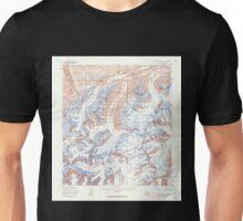 USGS TOPO Map Alaska AK Mount McKinley A-2 357754 1954 63360 Unisex T-Shirt