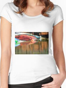 Reflection 2 Women's Fitted Scoop T-Shirt